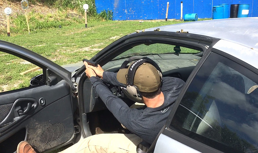 Shooting from Moving Vehicle